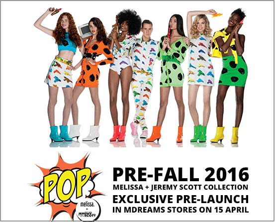 EXCLUSIVE PRE LAUNCHING MELISSA   JEREMY SCOTT AT MDREAM
