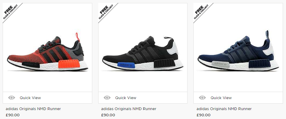 NMD Search JD Sports