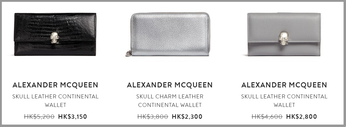 ALEXANDER MCQUEEN   Brands   Lane Crawford   Shop Designer Brands Online 1
