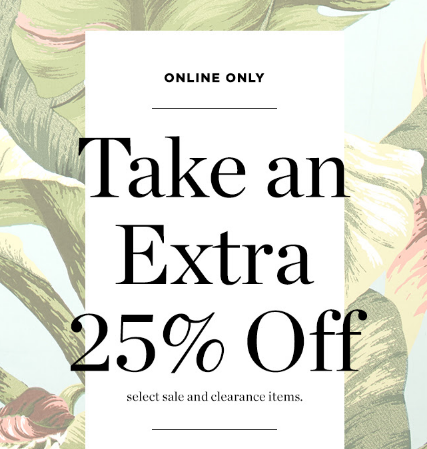 Extra-25-Off-Sale