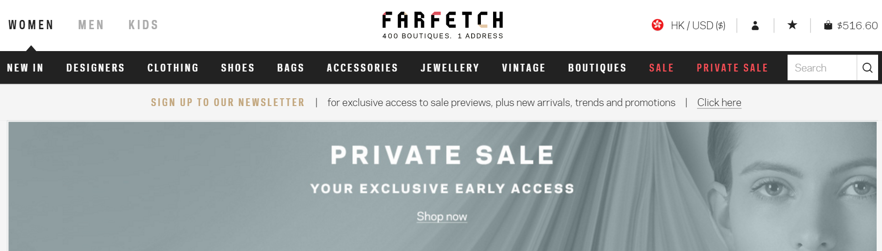 farfetch.com   a new way to shop for fashion