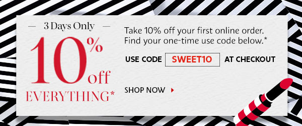 sephora hk 10off sweet10 code