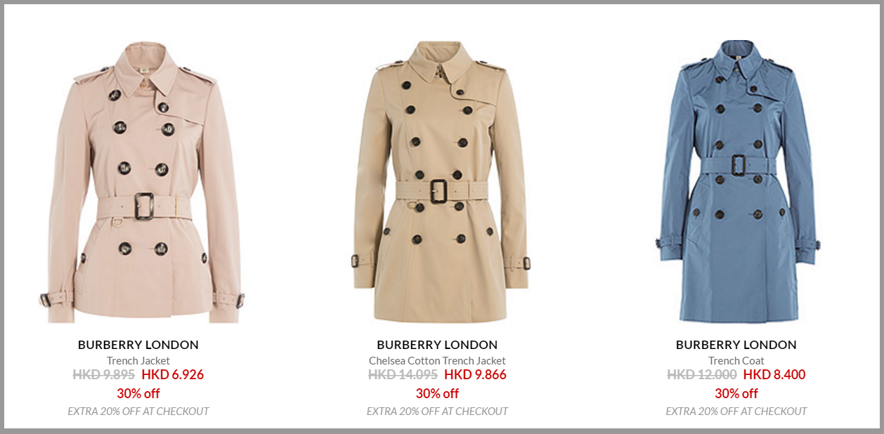 Sale   Designers   BURBERRY LONDON   the collection   Luxury fashion online   STYLEBOP.com