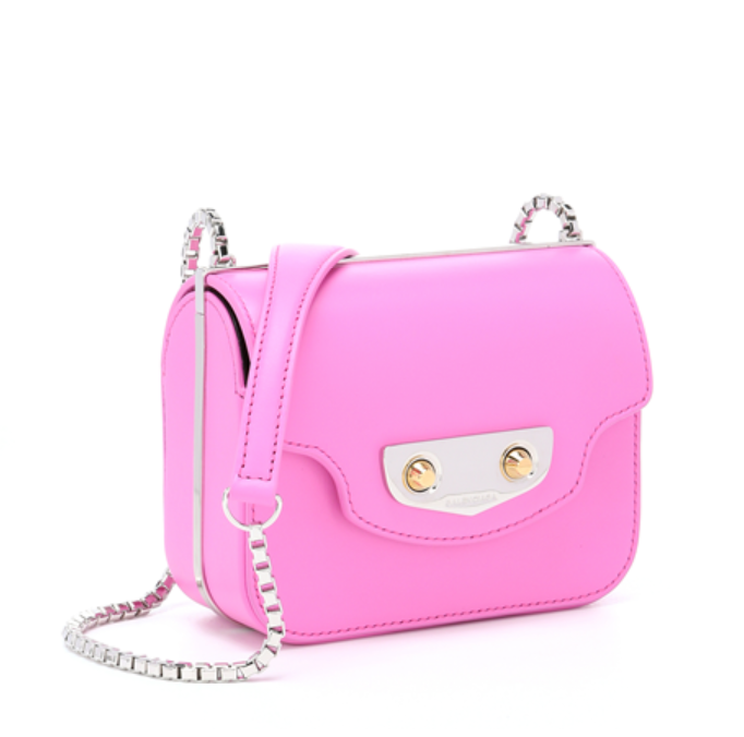 Balenciaga Pink Leather  neo Classic  Mini Shoulder Bag  373649201    Bluefly