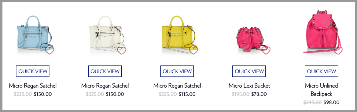 ENDLESS SUMMER SALE   Rebecca Minkoff4