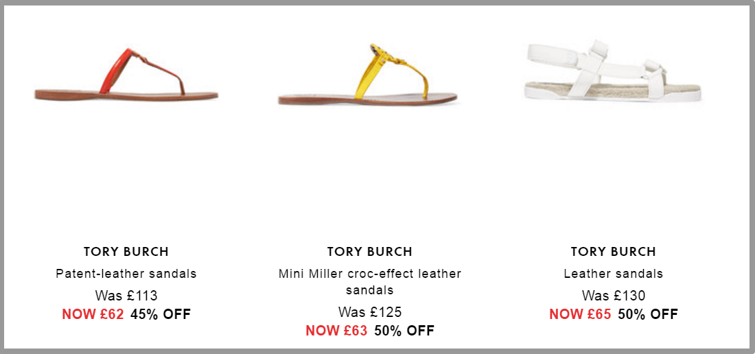 Tory Burch Sandals   Sale up to 70  off   HK   THE OUTNET