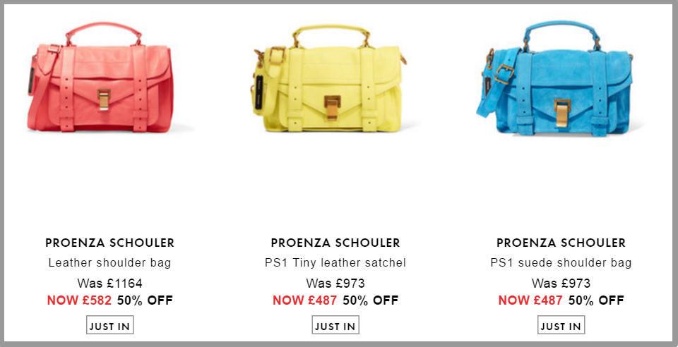 Proenza Schouler Bags   Sale up to 70  off   HK   THE OUTNET