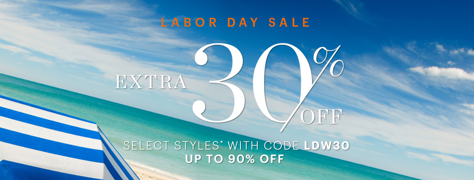 bluefly labor day 30off