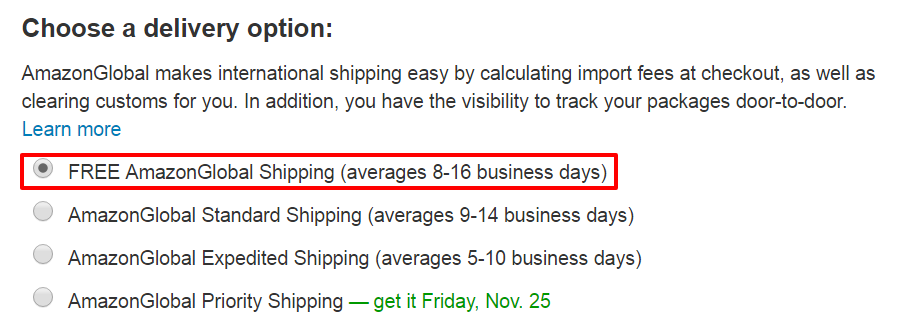 select-shipping-options