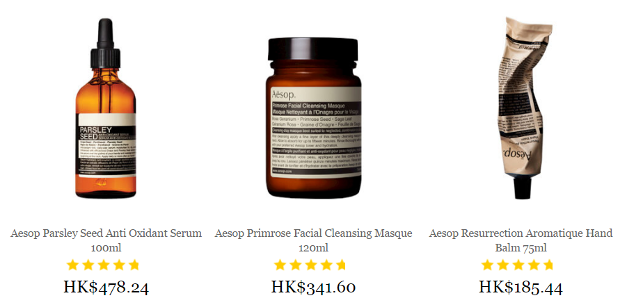 Aesop Range Mankind Free Delivery Over £15