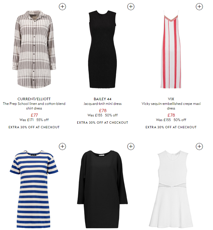 Get an extra 30 percent off HK THE OUTNET
