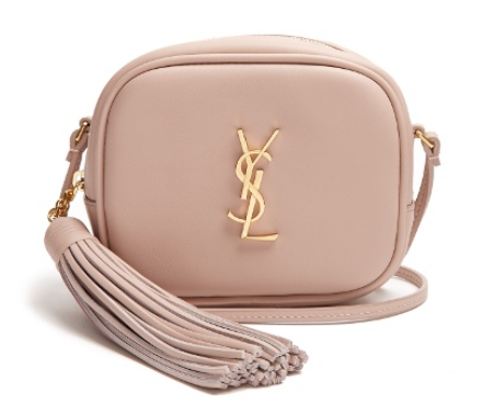 Monogram Blogger leather cross body bag