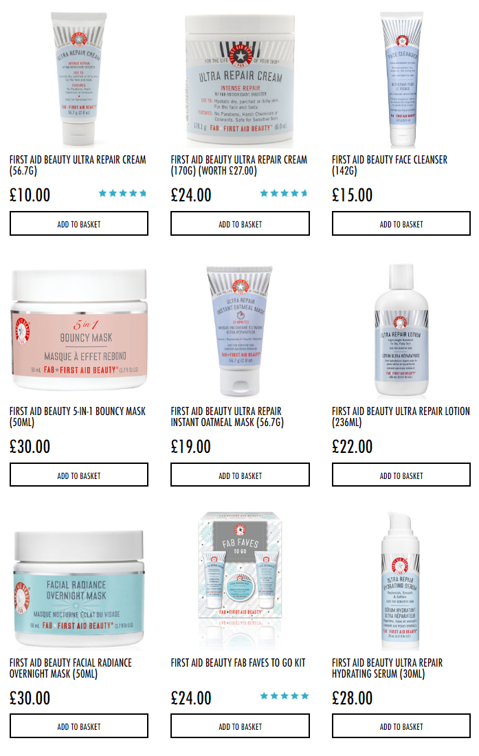First Aid Beauty HQhair Free Delivery Options