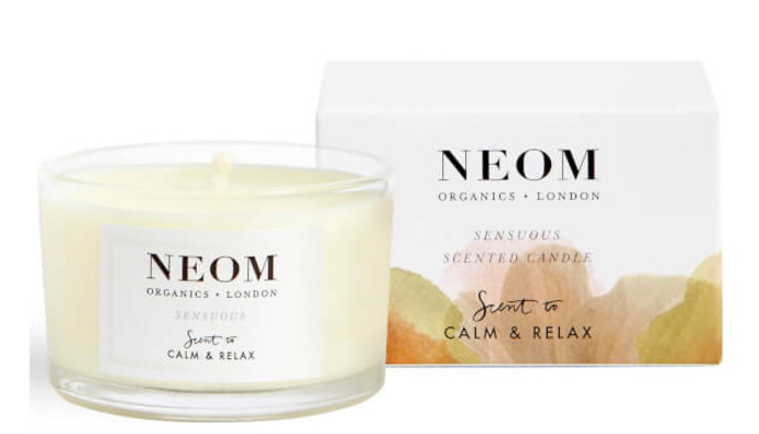 NEOM Sensuous Scented Travel Candle BeautyExpert