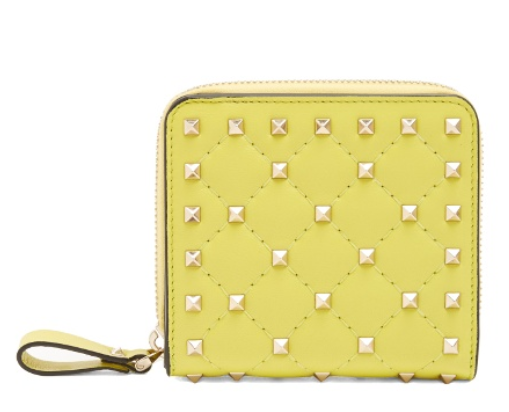 Rockstud Spike quilted leather wallet Valentino MATCHESFASHION.COM