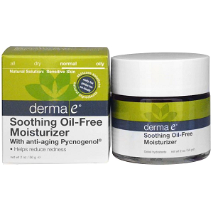 Derma E, Soothing Oil-Free Moisturizer with Anti-Aging Pycnogenol