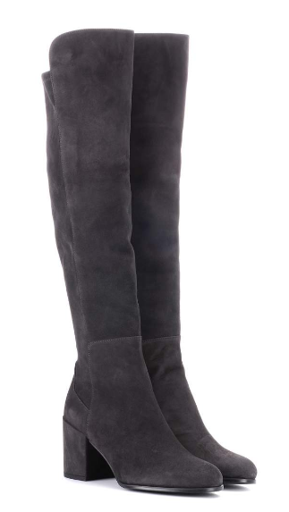 Alljack suede over-the-knee boots