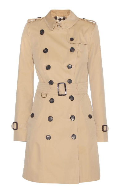 Burberry The Chelsea cotton trench coat mytheresa.com